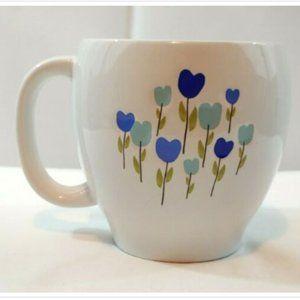 Starbucks Coffee Mug Cup Spring Hearts Cup Blue